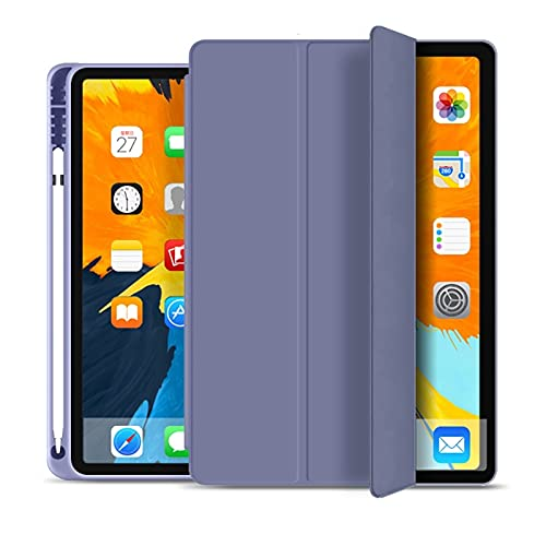 GHC PAD Cases & Covers For iPad Pro 11 inch 2020, Protective Stand Cover TPU case For ipad pro 11 2nd Generation A2231 A2233 with Film (Color : Lavender)