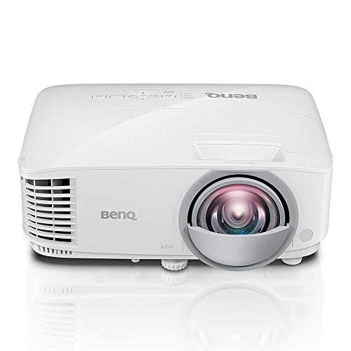 BenQ MX825ST Kurzdistanz DLP-Projektor (XGA, 1024 x 768 Pixel, 3.300 ANSI Lumen, HDMI, 12.000:1 Kontrast, 3D)