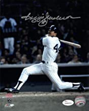 Autographed Reggie Jackson Photograph - 8x10 Color 1977 World Series)- Witnessed Hologram - JSA Certified