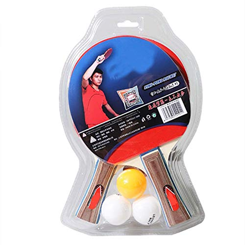 Check Out This JYL Ping Pong Paddle Set of 2, Professional Ping Pong Paddles with 3 Ping-Pong Balls,...