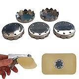 Seifen Plättchen für Magnet Seifenhalter, 5er Pack, aus S.S.302 Edelstahl, für magnetische Seifen...
