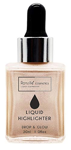 Ronzille Professional Smooth Shine illuminator Face Highlighter 3D glow 30...