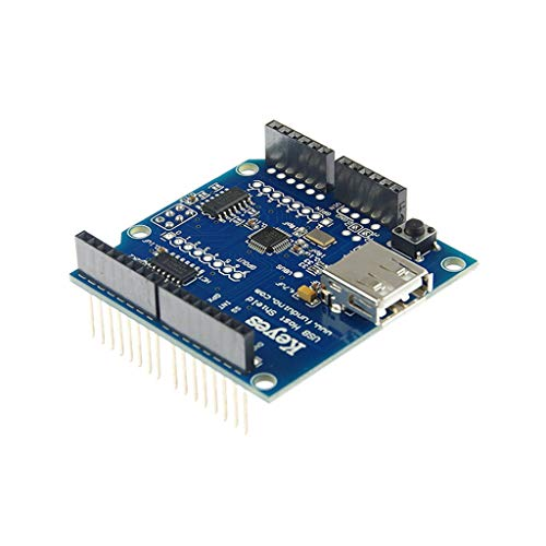 Abwan Integrated Circuit, USB Host Shield Module Board for An-droid ADK U-no 328 Me-ga 2560