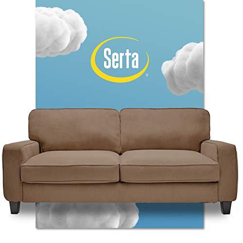 "Serta Palisades Sofa, 78"", Tan"