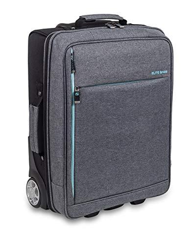 Maletín de asistencia domiciliaria biotono | Urban HOVI'S | Elite Bags | Colores: gris y negro | Medidas: 47 x 34 x 18 cm