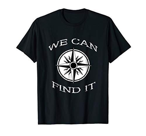Compass GPS Geocaching Geocacher Treasure Hunt T-Shirt Gifts
