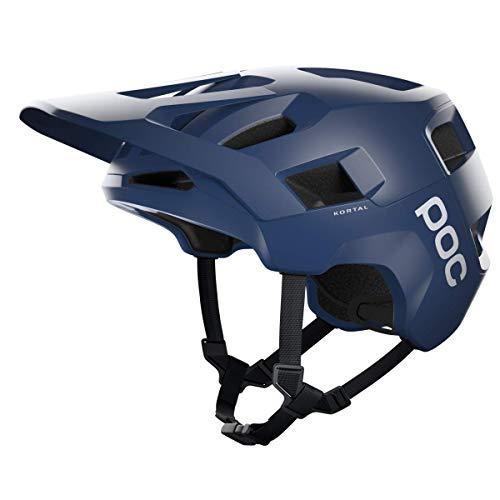 POC Unisex-Adult Kortal Helm, Lead Blue Matt, M-L (55-58cm)