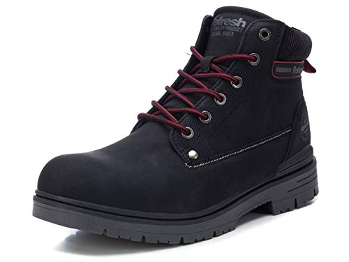 Refresh Boot Männer Boot schwarz EU43 Kunstleder Biker, Rockwear, Streetwear