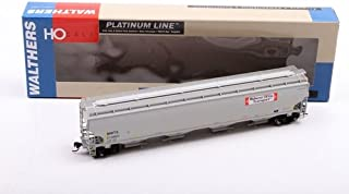 Walthers Platinum Line HO Scale MWTX (Midwest DDG) #212601 Trinity 6351 4-Bay Covered Hopper Car (932-41110)