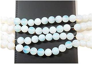 38 perlas de piedra de luna, ópalo, 10 mm, gemas sintéticas, redondas, Gemstone New D90B