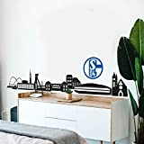 FC Schalke 04 Fanartikel Wandsticker Logo selbstklebendes
