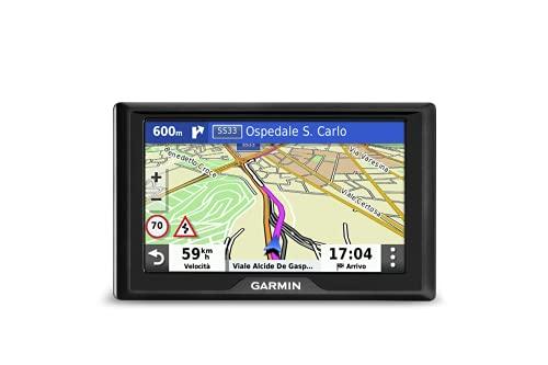 Garmin 010-02036-10 Drive 52 EU LMT-S Navigatore 5', Mappa Europa Completa, Aggiornamento a Vita e Servizi Live via Bluetooth, Infotraffico Live via Smartphone