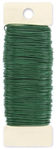 Paddle Wire, 22-Gauge, Green