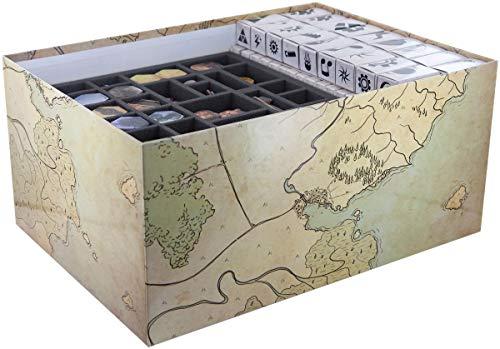 Feldherr Schaumstoff-Set kompatibel mit Gloomhaven - Brettspielbox