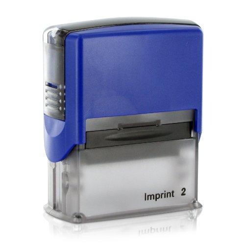 Dormy Imprint 2 47x17 mm (Firmenstempel / Adressstempel) mit individueller Stempeltextplatte