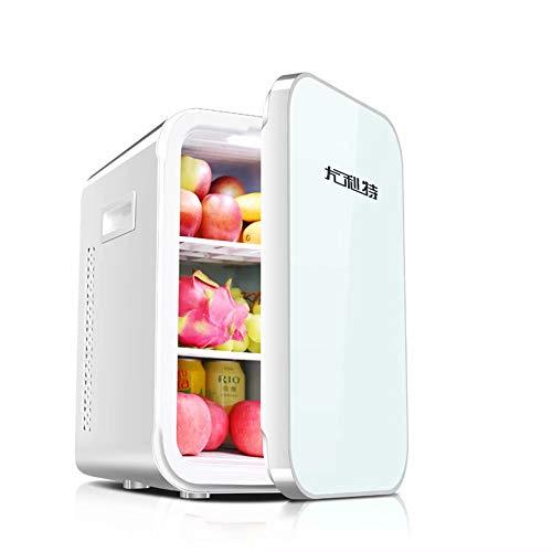 WEIFAN-1 22L Petit réfrigérateur de Voiture Porte Simple Mini congélateur (Smart/Blanc)