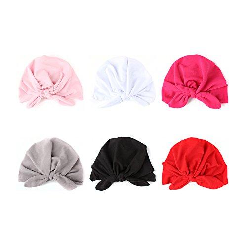 COUXILY Babymütze Baby Mädchen Mütze Neugeborenenmütze Erstlingsmütze Strick Hüte Mützen & Caps Hut- Baumwolle für 0-2 Jahre (HP-C03)