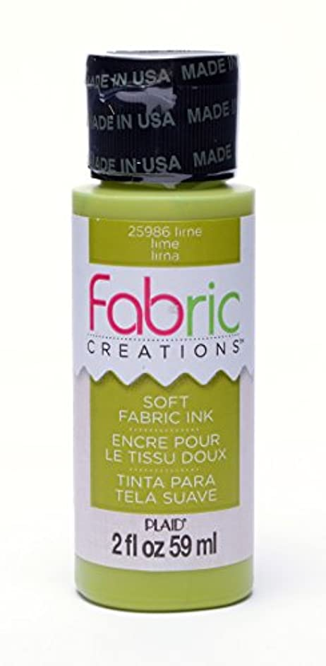 Fabric Creations Fabric Ink in Assorted Colors (2-Ounce), 25986 Lime