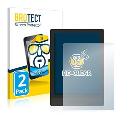 BROTECT 2x Schermbeschermer compatibel met Onyx Boox Poke 3 Screen protector transparant