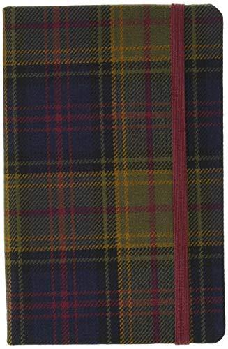 Kinloch Anderson: Waverley Genuine Tartan Cloth Commonplace Notebook (Waverley Scotland Tartan Cloth Commonplace Notebooks/Gift/stationery/plaid)