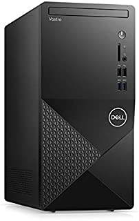 2021 Newest Dell Vostro Business Desktop 3888, Intel 6-Core i5-10400 up to 4.3 GHz, 16GB Memory, 256GB PCIe SSD (Boot) + 1...