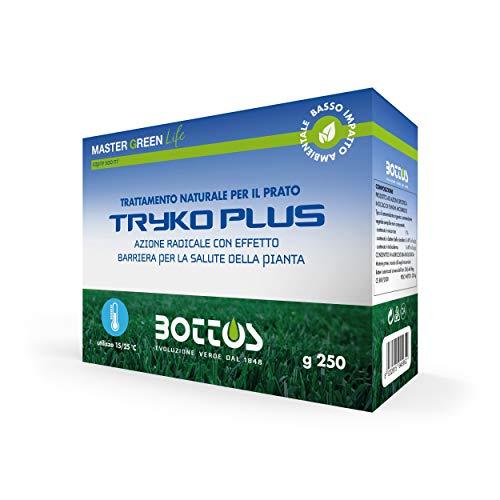 Bottos Tryco Plus 250 Gr Fungicida Fertilizzante Naturale per Prato Tappeto Erboso Giardino