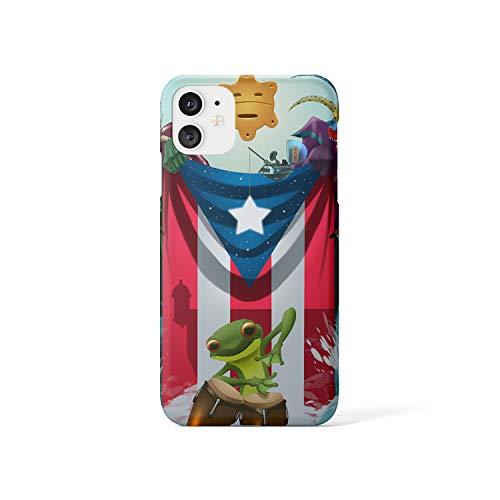 Puerto Rico Coquí Boricua case Compatible with iPhone 11 11 pro 11 Pro Max 7 8 Plus XR (for iPhone 11 pro)