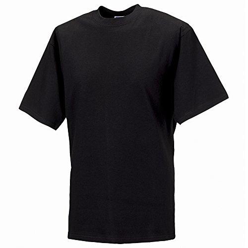 Russell Super ringspun classic t-shirt Black M