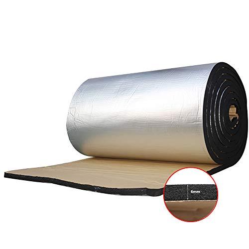 "Guteauto 236mil 15sqft Car Noise Insulation Mat Automotive Sound Deadener Sound deadening mat 55"" x 39"""