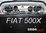 ERGOTECH Divisorio Griglia Rete Divisoria RDA65HBG-2HXXS kft023, per Trasporto Cani e Bagagli.