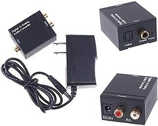 Digital Converter Optical Coaxial Optical to Analog RCA Audio Converter