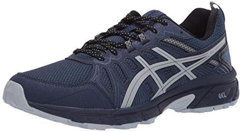 ASICS Men's Gel-Venture 7 Trail Running Shoes, 13, Peacoat/Piedmont Grey