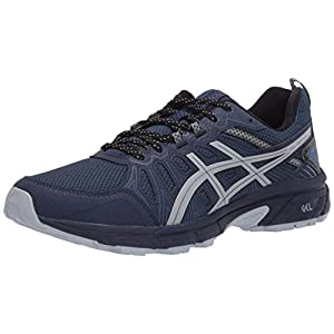 ASICS Men's Gel-Venture 7 Running Shoes, 10.5, Peacoat/Piedmont Grey