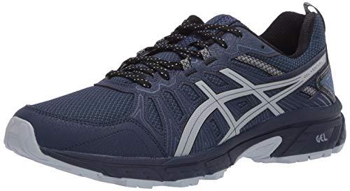 ASICS Men's Gel-Venture 7 (4E) Trail Running Shoes, 10XW, Peacoat/Piedmont Grey