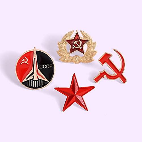 HCMA Pin del ejército Asociación Militar Alemana Gorra de Visera Edelweiss broches Pin Insignias Regalo de joyería para Hombres