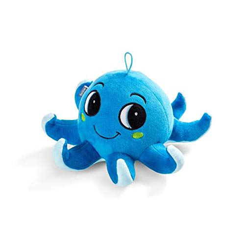 Skoda 5E3087576 Octopus Plüschtier Octavius Accessoires Microfaser Plüsch Krake blau