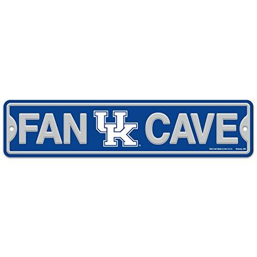 University of Kentucky Wildcats Plastic Fan Cave Sign 4' x 17' Street Sign...
