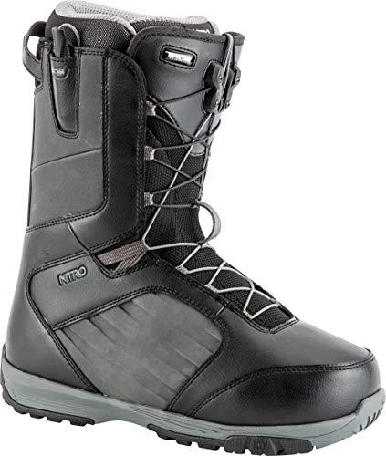 Nitro Snowboards Anthem Tls 19' lichte snowboardschoen snowboardboot met snelsluitsysteem Allround Freestyle Freeride softboot warme boots