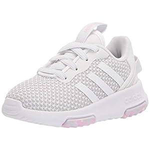adidas Unisex-Youth Racer Tr 2.0 Shoes White/White/Dash Grey 3