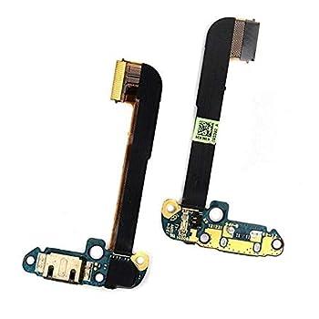 JOEMEL Mobile Phone Flex Cables - 5pcs/lot Headphone Audio Jack USB Charging Dock Port Flex Cable for HTC One M7 Single Sim Charger Connector Replacement Parts