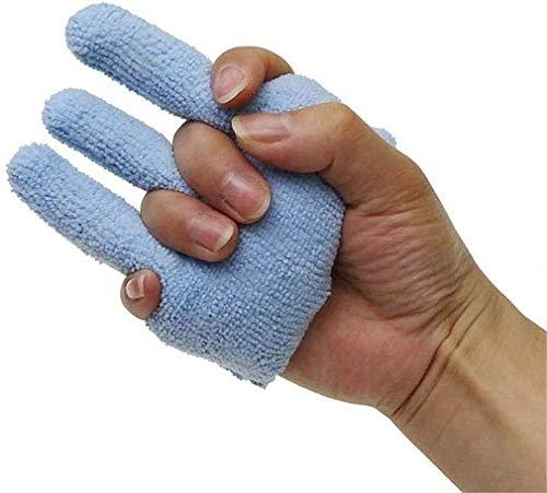 XYQ (Tamaño: 1pcs) Formación Dedo Contractura de Dispositivos, prevenir el Dedo Supurante raquitismo Mano Cuidado Mayor for Las Escaras, 04/05/2020 (Size : 1pairs)