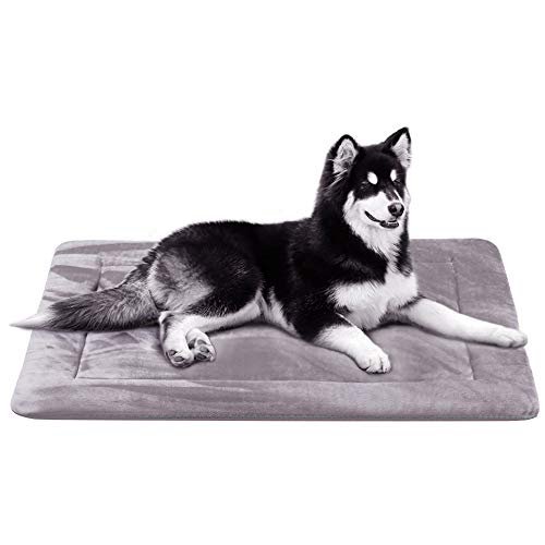 JoicyCo Large Dog Bed Crate Mat 42 in...