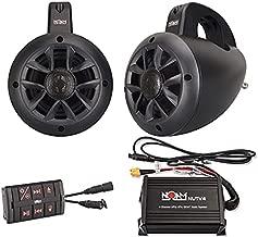 NOAM NUTV4 - Marine Bluetooth ATV/Golf Cart/UTV Speakers Stereo System