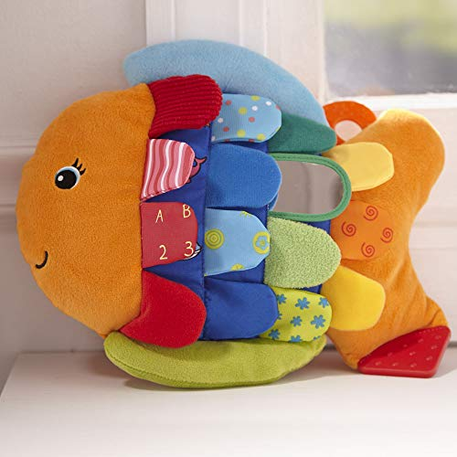 Melissa & Doug Flip Fish Soft Baby Toy toys for a 4 month old