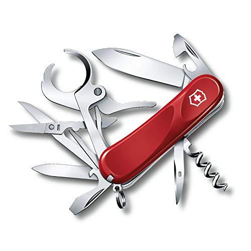 Victorinox Taschenmesser Cigar 79 (15 Funktionen, Zigarrenschneider, Ergonomisch, Schere) rot