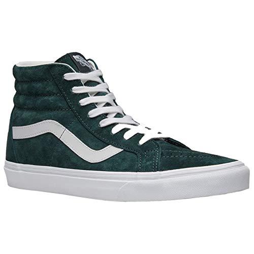 Vans Uomo Darkest Spruce Verde/True Bianco SK8-Hi Reissue Sneaker-UK 9