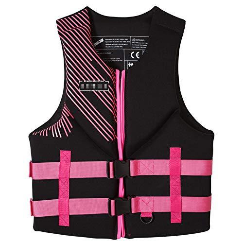 Yeah-hhi Chaleco Salvavidas, Chaleco de natación para Adultos de Alta flotabilidad, Adecuado para Deportes acuáticos, Kayak, Remo, Snorkelin