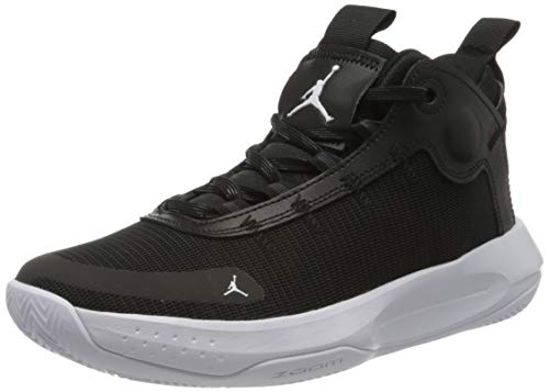 Nike Jordan Jumpman 2020, Zapatillas de Baloncesto para Hombre, Multicolor (Black/White/Electric Green 001), 44 EU