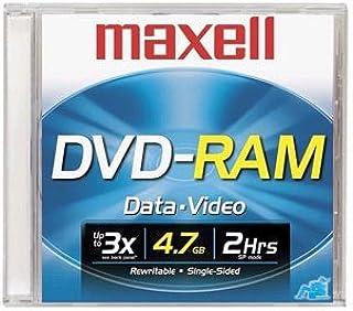 Maxell 5PK DVD-RAM 4.7 W/JC (636071)