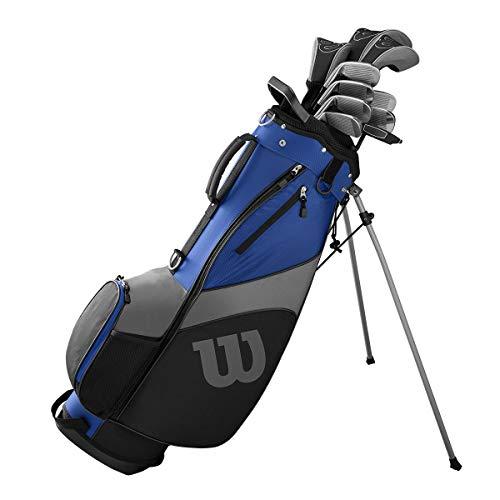 WILSON 1200 TPX Herren Golf Komplettset, RH, Stahl- & Graphitschäfte, 1 Inch